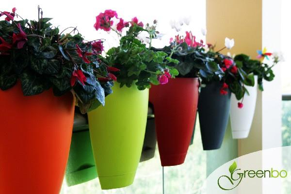 Bonitos e facilmente adaptáveis a qualquer parapeito, os vasos da Greenbo são um achado!