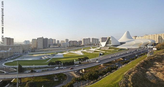 A implantação do futuro centro cultural se dará em amplo espaço.
