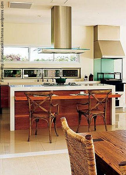 Tend ncia cozinhas com ilha central passeio for Estilo etnico contemporaneo