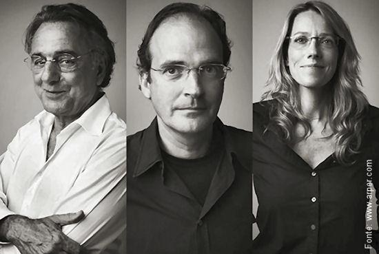 Lievore, Molina e Altherr: designers de sucesso provado e comprovado.