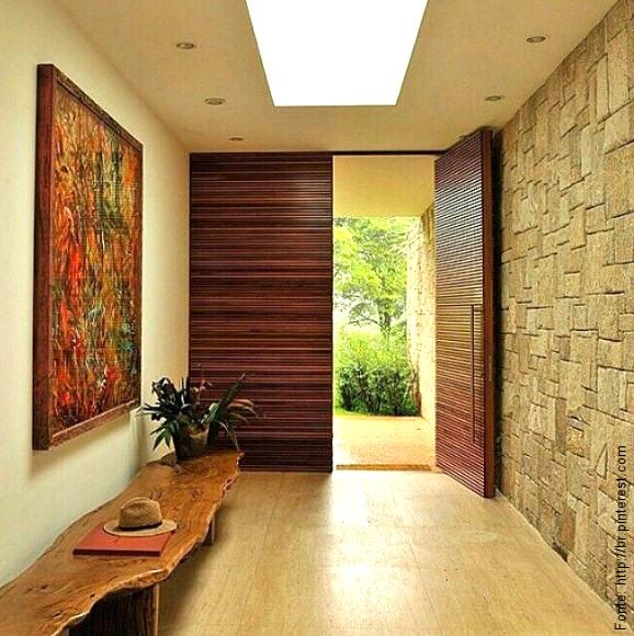 Entradas ao estilo r stico for Entradas de casas rusticas
